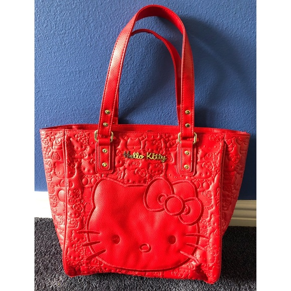19b7eb584 Loungefly Bags | Lounge Fly Hello Kitty Large Tote Bag | Poshmark